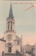 JEZAINVILLE  Eglise Et Ecole De Garcons - France