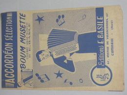 Accordeon Selection - Boum Musette - Partitions Musicales Anciennes