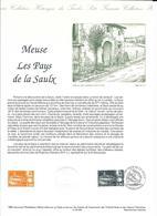 Doc Fdc+ Gravure 2/7/94,  N° 2892 Yt, Pays De Saulx Meuse, Pont De Rupt Aux Nonains - Documents Of Postal Services