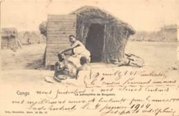 Congo - Topo / 58 - La Perruquière De Sungolo - Cliché Nels - Défaut - Congo Belge - Autres
