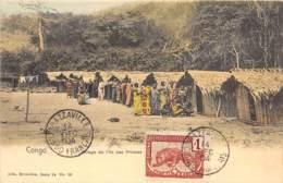 Congo - Topo / 65 - Village De L' Ile Des Princes - Belle Oblitération - Cliché Nels - Congo Belge - Autres