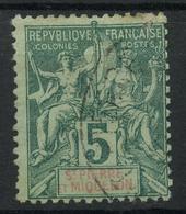 Saint Pierre Et Miquelon (1891) N 62 (o) - Used Stamps