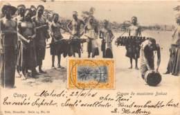 Congo - Topo / 76 - Groupe De Musiciens Bakua - Belle Oblitération - Congo Belge - Autres