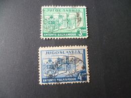 YOUGOSLAVIE  N° 312 313   OBLITERE - 1931-1941 Royaume De Yougoslavie