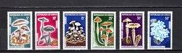 Congo  1970  .   Y&T  Nº    254/259    *   Sin  Goma - República Democrática Del Congo (1964-71)