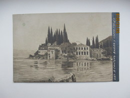 IMP. RUSSIA , ITALY LAKE GARDA   , OLD POSTCARD , O - Pittura & Quadri