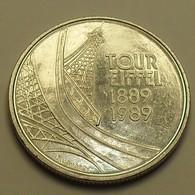 1989 - France - 5 FRANCS, Centenaire De La Tour Eiffel, KM 968, Gad 772 - Commémoratives