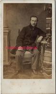 CDV Second Empire-homme à Lunettes-photographe Anonyme - Photos