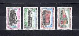 Congo  1970  .   Y&T  Nº    279/282    *   Sin  Goma - República Democrática Del Congo (1964-71)