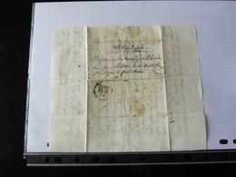 LETTRE DE GENES POUR LA FERTE MACE  -  1827  - - 1801-1848: Precursori XIX