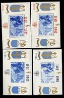 Blocs 18 à 21 ** ORVAL  Postfris  Sans Charnière  Cote 175,- € - Blocks & Sheetlets 1924-1960