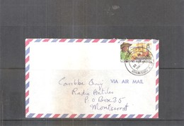 Cover From St.Christopher-Nevis-Anguilla To Monserrat (to See) - St.Kitts-et-Nevis ( 1983-...)