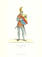 """1904 """"-CAVALIERE DEL NODO-MCCC-STAMPA PROPAGANDA LAB. FARM. MAESTRETTI """" STAMPA ORIG. - Pubblicitari"""