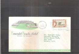 Hotel Cover From Bahamas - New Constitution 1964 (to See) - Bahamas (...-1973)