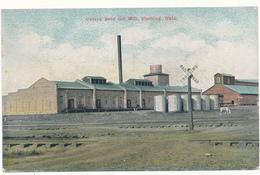 OKLA - CUSHING - Cotton Seed Oil Mill - Etats-Unis