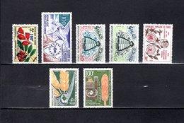 Congo  1973  .   Y&T  Nº    338-339-340/341-342/344   *   Sin  Goma - República Democrática Del Congo (1964-71)