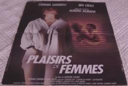 AFFICHE CINEMA ORIGINALE FILM PLAISIRS DE FEMMES EROTISME SOLDATI MORAVIA Stefania SANDRELLI 1987 LANDI - Affiches & Posters