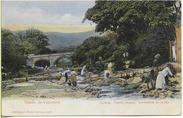 CARACAS  Puente Anauco Lavenderas En El Rio (lavandières) - Venezuela