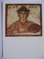 Personification Of Spring  Mosaics Of The Petra Chuech Jordanie - Jordanie