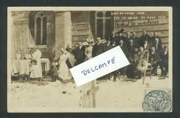 Bief-du-Fourg - Carte-photo  Mariage Sur La Neige Suite Aux Inventaires De 1906 - Autres Communes