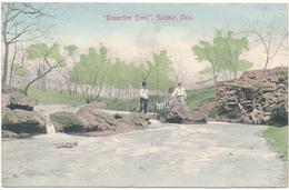 OKLA - SULPHUR - Travertine Creek - Etats-Unis