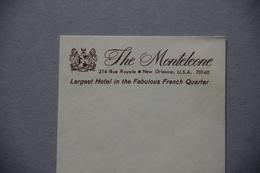 Enveloppe Vierge, Hôtel The Monteleone, New Orleans (Louisiane, Etats-Unis, USA) - Etats-Unis