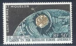 St Pierre PA 29 Telstar  Neuf** Sans Charniere, Scott C26 Mint NH - Airmail