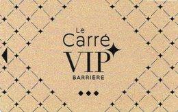 CARTE DE CASINO BARRIERE Carré VIP - Casino Cards