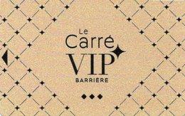 CARTE DE CASINO BARRIERE Carré VIP - Cartes De Casino