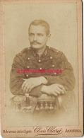 CDV Soldat Du16e R-photo Clovis Claret Avenue De La Cigale-hotel Privé à Asnières - Guerre, Militaire