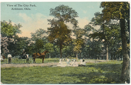 OKLA - ARDMORE - City Park - Etats-Unis