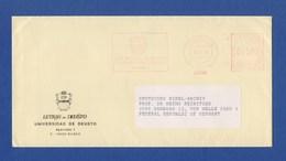 Umschlag Cover AFS - Universidad De Deusto, BILBAO 1992 - Machine Stamps (ATM)