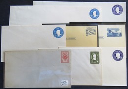 Panama Canal 1929 To 1975 : 8 Pre Paid Enveloppes (including 2c  - Seal Of Canal Zone - Unused) - Canal Zone