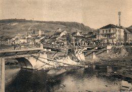 Carte Postale Moyeuvre-Grande (Moselle) Pont De L'Orne à La Libération - France