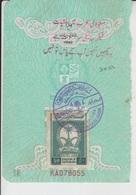 Saudi Arabia Revenue Stamps On Document (A-601) - Saudi Arabia