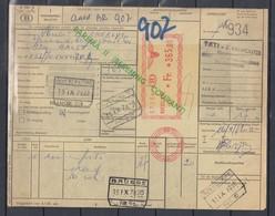 Vrachtbrief Met Machinale Stempel  Roeselare - 1952-....