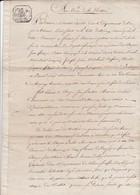 1800 - Consulat De La République Française - Codicille * De 6 Pages Encollées - Problèmes D'adoption - Trévoux, Ain - Manuscrits