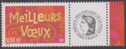 Année 2003 - N° 3623A X 2 - Meilleurs Voeux (pour Entreprises) - Avec Vignettes Cérès Et Les Timbres Personnalisés - France