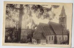 PLANCHES : L'église - Phot édit Blanc Rugles (écrite Par E. Plessis) - France
