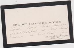 Vieux Papier : Carte De  Visite : Orne à FLERS , Rue De La  Banque - Cartes De Visite