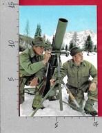 CARTOLINA VG ITALIA - Serventi Al Mortaio 81 - Stato Maggiore Dell'Esercito - 10 X 15 - ANN. 1971 - Manovre
