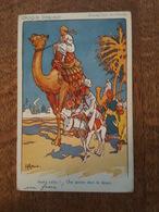Illustrateur H. Gervèse - Port Said - Une Pointe Dans Le Désert - Dromadaire, Ane - Croquis D'Escale - Gervese, H.