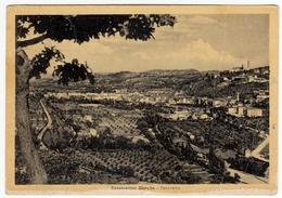 SAN SEVERINO MARCHE - SANSEVERINO MARCHE - PANORAMA - MACERATA - 1952 - Vedi Retro - Macerata