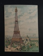 CHROMO.  La  TOUR  EIFFEL.Exposition Universelle De 1889 - Unclassified