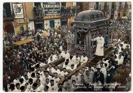 CATANIA - FESTA DI SANT'AGATA - IL FERCULO IN PIAZZA SPIRITO SANTO - 1954 - Vedi Retro - Catania