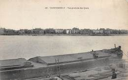 PIE-RO. Fp-18-7175 : TRENTEMOULT. BATEAU A QUAI. - France