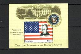 Liberia 2000 President Andrew Jackson MNH -(V-37) - Famous People