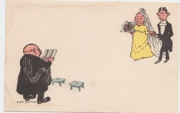 Carte Illustrateur Albert ENGSTROM (lot Pat 11) - Noces
