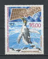 TAAF 1998 PA  N° 148 ** Neuf MNH Superbe C 8,70 € Faune Antarctique Fauna Oiseaux Birds Manchots Argos Espace Sp - Poste Aérienne