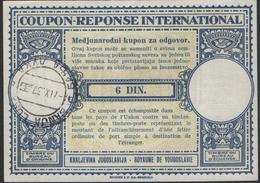 Yugoslavia-International Reply Coupon - U.P.U.